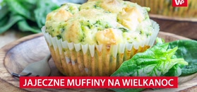 Jajeczne muffiny na Wielkanoc