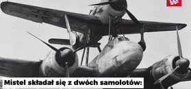 Mistel - skrzydlata bomba Hitlera
