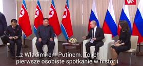 Kim spotkał się z Putinem