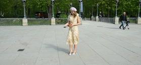 Paryska Paulina Sykut-Jeżyna kręci piruety przed paparazzi