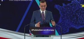 Mateusz Morawiecki na konwencji PiS.