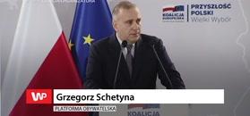Grzegorz Schetyna na konwencji KE.