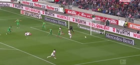 Grek zapewnił zwycięstwo Stuttgartowi! VfB liczy na cud i utrzymanie [ZDJĘCIA ELEVEN SPORTS]