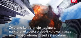 Uderzenie wielkiej asteroidy to kwestia czasu
