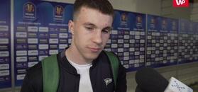 Finał Pucharu Polski. Konrad Michalak: Jestem dumny, że dołożyłem cegiełkę do tego sukcesu