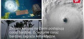 Ciepłe wiatry na Antarktydzie