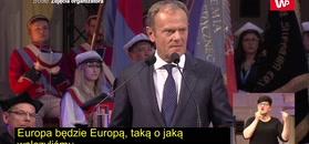 Tusk o zatrzymaniu Podleśnej:
