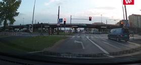 Wypadek w Częstochowie. Przerażające nagranie