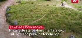Niezwykłe starożytne cmentarzysko. Tak wygląda polskie Stonehenge