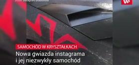 Gwiazda instagrama i jej niezwykły samochód