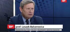 Leszek Balcerowicz odpowiada Elżbiecie Rafalskiej ws. 500+