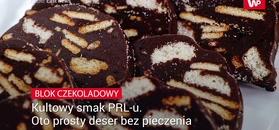 Kultowy smak PRL-u.  Oto prosty deser bez pieczenia