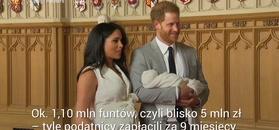 Zobacz, ile warta była ciąża Meghan