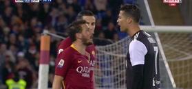 Florenzi był wściekły na Ronaldo, ale później mu wybaczył. Roma pokonała Juventus!