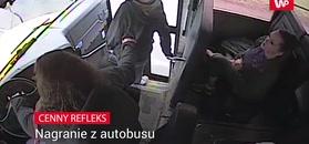 Cenny refleks. Kierowczyni autobusu okrzyknięta bohaterką