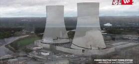 Dwie wieże runęły w zaledwie 10 sekund