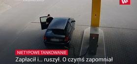 Nietypowe tankowanie w Tarnowie