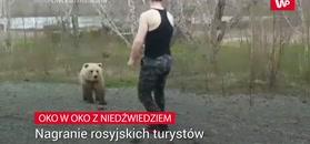 Bezmyślny turysta. Nagranie z Rosji