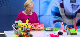 Robot na Dzień Dziecka.