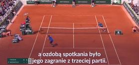 #dziejesiewsporcie: Co za zagranie Austriaka! Brawa bił mu nawet rywal