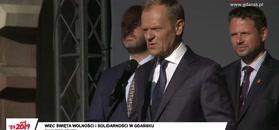 Donald Tusk: jesteście dzisiaj wszyscy gośćmi Pawła Adamowicza