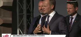 Donald Tusk o piciu wódki w Magdalence.