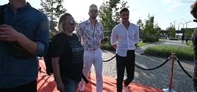 Rafał Maślak poluje na selfie z celebrytami