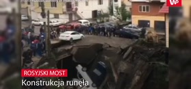 W Rosji zawalił się most