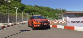 Škoda Mountiaq w ruchu. Jedyny taki pickup na świecie