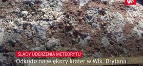Ślady uderzenia meteorytu