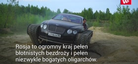 Bentley na gąsienicach