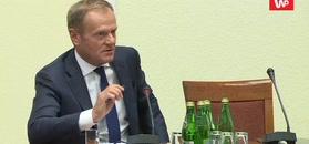 Donald Tusk ripostuje pytanie o Rostowskiego. I mówi o Morawieckim