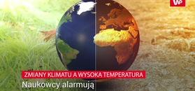 Zmiany klimatu a wysoka temperatura. Naukowcy alarmują