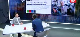 Patryk Jaki drwi z Romana Giertycha.