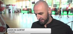 Marcin Gortat o meczu w Wojskiem Polskim: