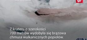 Wyleciał spomiędzy chmur. Potężną eksplozję w Rosji nagrali z kosmosu