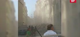 Eksplozja w Wiedniu. Nagranie świadka