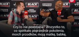 Mike Tyson wybuchł po pytaniu o powstanie warszawskie.