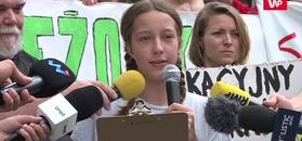 Protest 13-letniej Ingi.