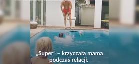 #dziejesiewsporcie: Klara Lewandowska już uczy się pływać! Słodkie nagranie