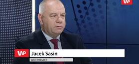 Incydent w PE z udziałem europosłów PiS. Sasin: może zabrakło refleksu