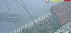 Niepublikowane nagranie z zawalenia wiaduktu w Genui. Tak zginęły 43 osoby