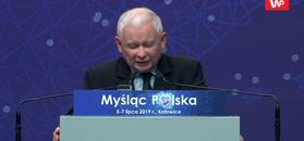 Kaczyński ostro na konwencji PiS. Mówił o