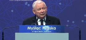 Kaczyński rozbawił tłum. Przytyk do opozycji