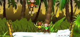 MINI BAMBINI TV w o2: Pięć małych małpek