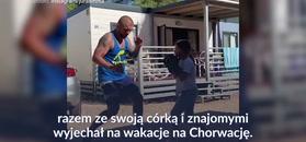 #dziejesiewsporcie: Trening od najmłodszych lat. Łukasz Jurkowski pochwalił się ćwiczeniami z córką