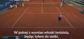 #dziejesiewsporcie: To może być tenisowe zagranie roku! O tej wymianie mówi cały świat