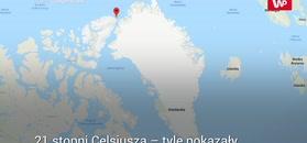 Fala upałów w Arktyce. Po 63 latach rekord temperatury pobity