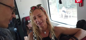 W drodze na Pol'and'Rock Festival. Kobieta zadeklarowała pomoc innym uczesnikom