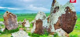 Tajemniczy kamienny krąg w Armenii